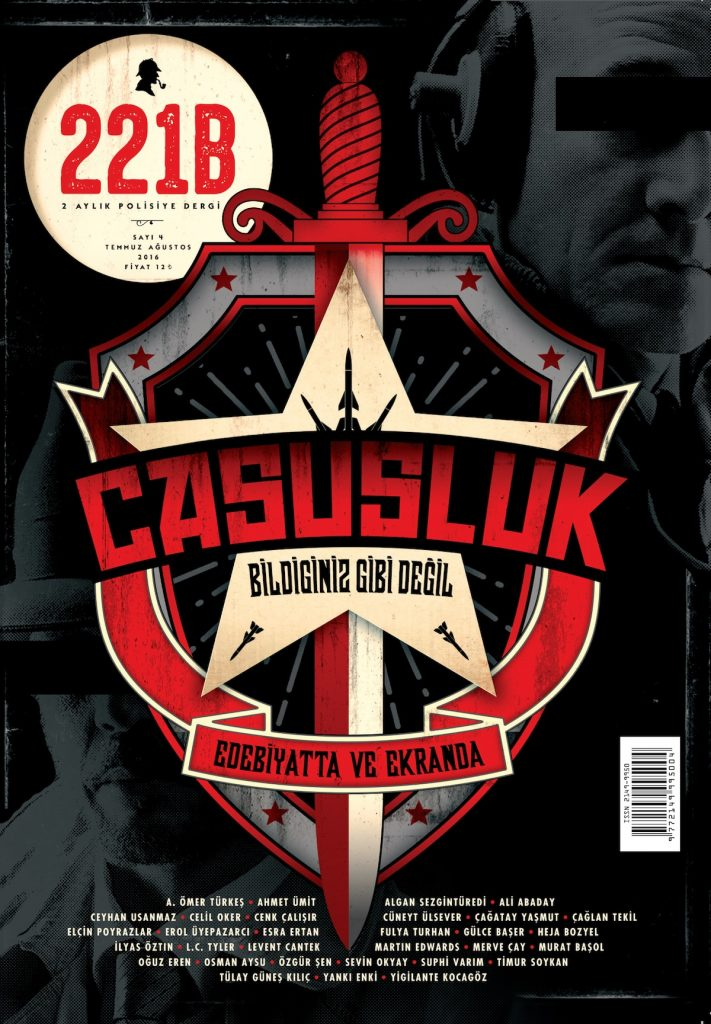 221B Dergi Sayı 4 Kapak