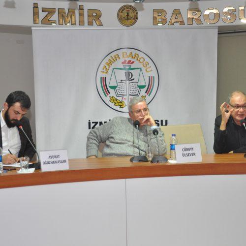 Polisiye Yazarları Cüneyt Ülsever ve Suphi Varım İzmir'deydi