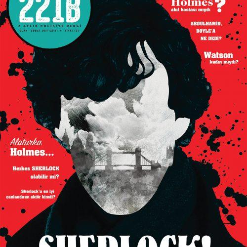 """Polisiye Dergi 221B'nin """"Sherlock"""" Dosyalı 7.Sayısı Raflarda!"""