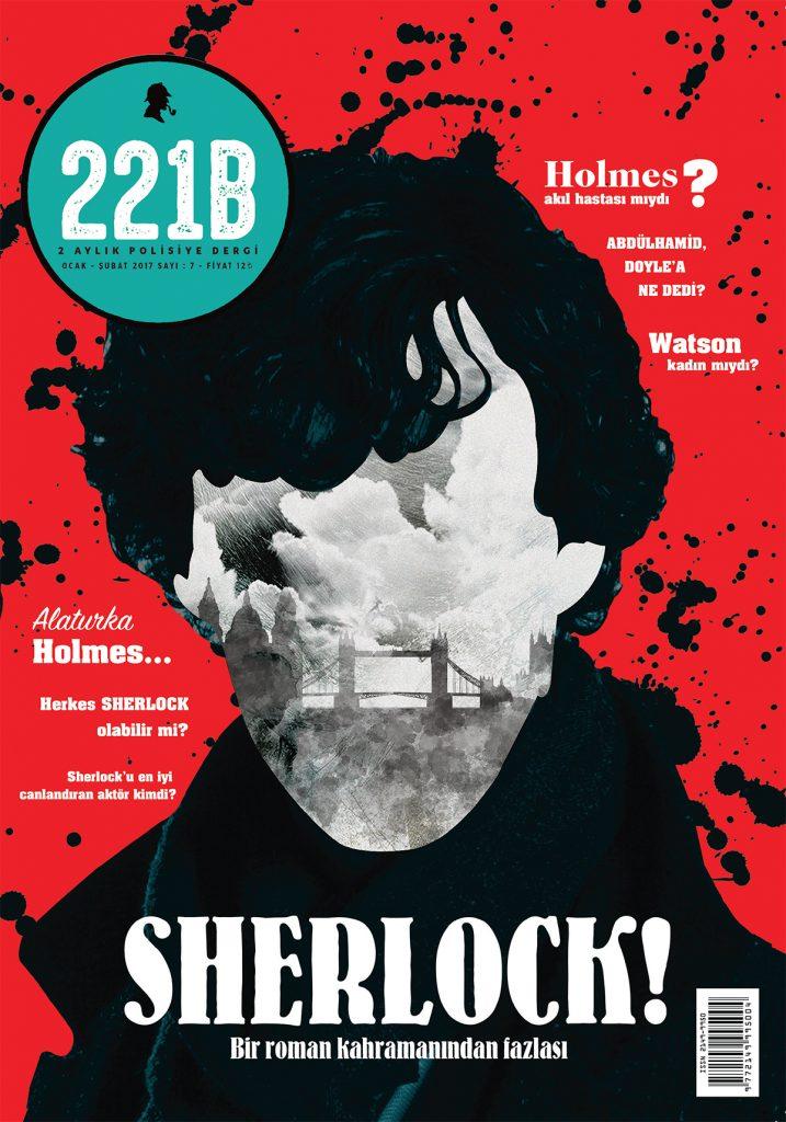 221B Dergi Sayı 1 Kapak