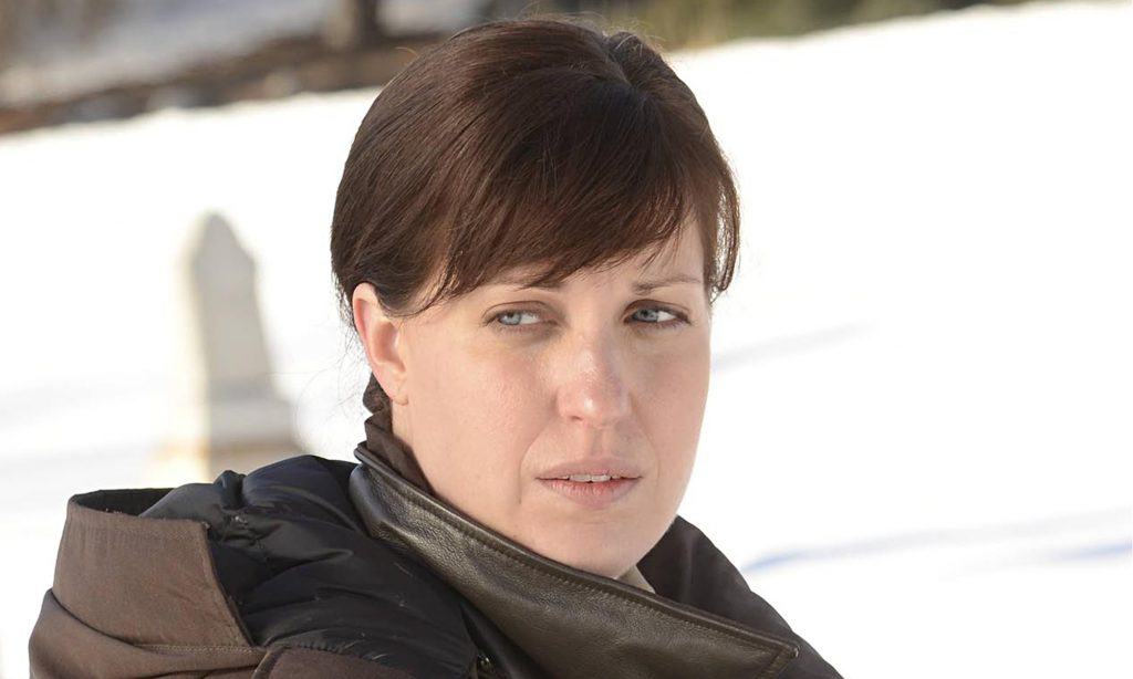 Solverson by name … Allison Tolman as Deputy Molly Solverson
