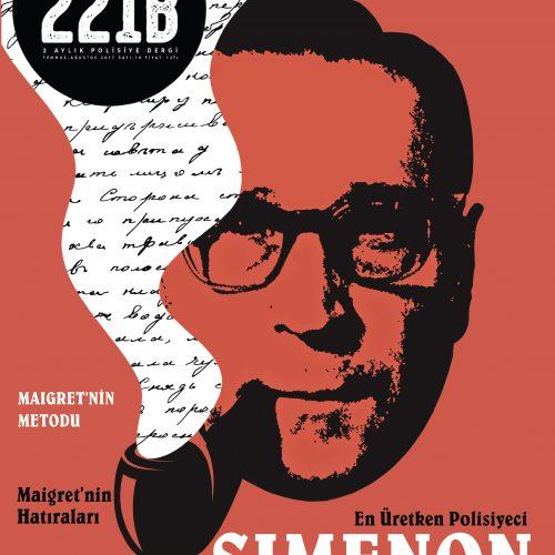 Polisiye Dergi 221B'den Georges Simenon'lu 10.Sayı!