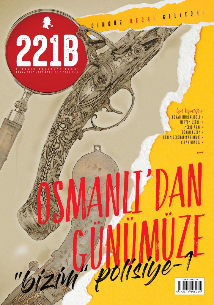221B Dergi Sayı 11 Kapak
