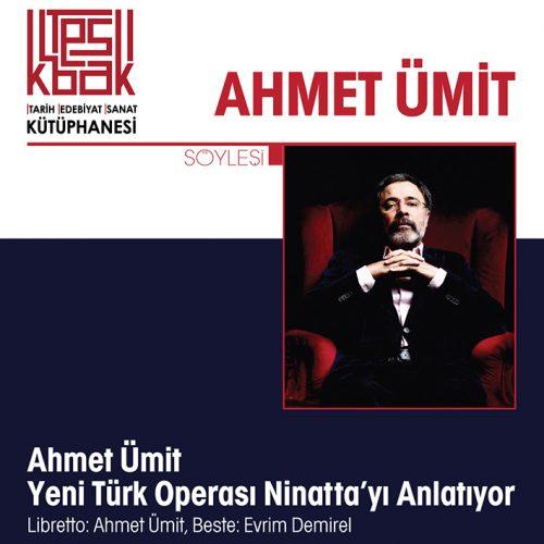 """Ahmet Ümit Librettosunu Yazdığı """"Ninatta"""" Operasını Anlatıyor"""