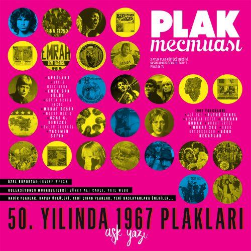 Türkiye'nin İlk ve Tek Plak Kültürü Dergisi Plak Mecmuası Çıktı!