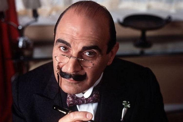 En ünlü Hercule Poirot; David Suchet...