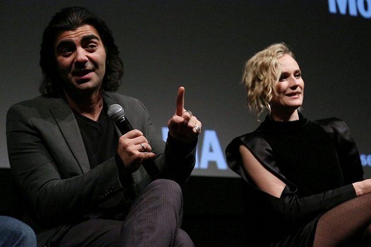 Diane Kruger, Paramparçanın yönetmeni Fatih Akınla...