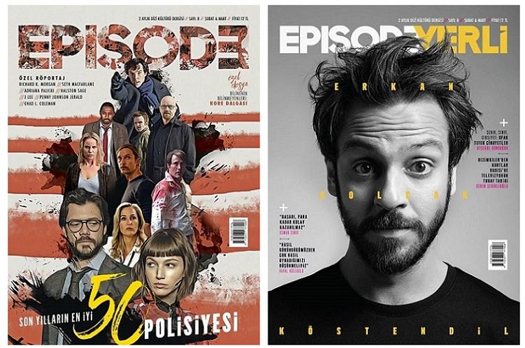 Dizi kültürü dergisi Episodeun üçüncü sayısı çıktı 28