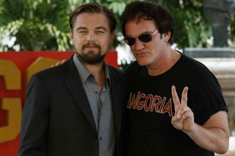 """Quentin Taranino, dana önce """"Django""""da çalıştığı Leonardo DiCaprio ile birlikte..."""