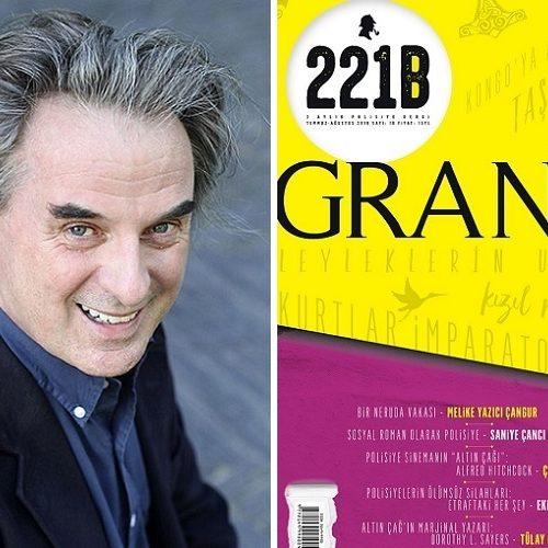 221B Dergi, 16. Sayısında Grangé Dosyasını Açıyor