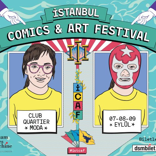 İstanbul Comics & Art Festival ICAF, Cuma Günü Başlıyor