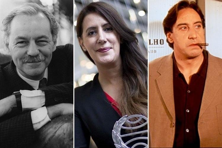 Soldan sağa: Eduardo Mendoza, Dolores Redondo ve Montalbán'ın yarattığı, TV'ye de uyarlanan Pepe Carvalho karakteri...