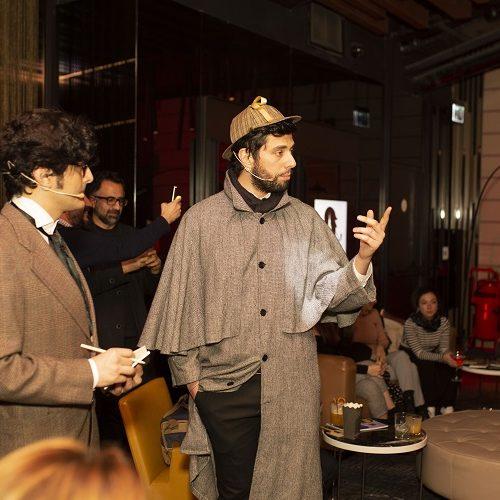 Capitol'de Düzenlenen Türkiye'nin İlk Sherlock Holmes Gecesine Büyük İlgi