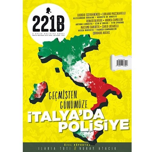 221B, 20. Sayısında İtalyan Polisiyeleri Dosyasını Açıyor