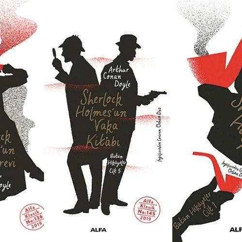 Beş Ciltlik Sherlock Holmes Hikâyeler Serisi Raflarda