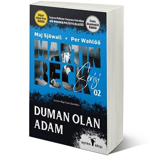 """Martin Beck Serisinin 2. kitabı """"Duman Olan Adam"""", Piyasaya Çıktı"""