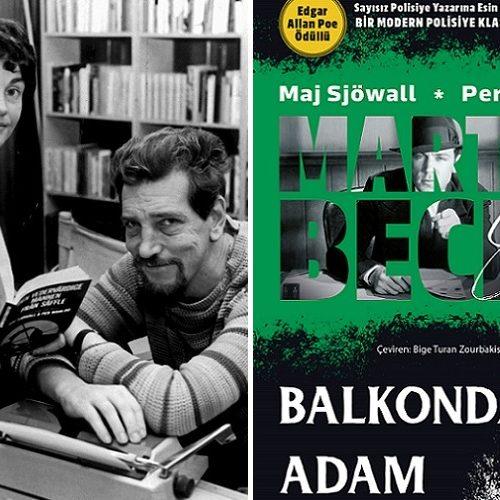 """Martin Beck Serisinde Sıra 3. Kitapta: """"Balkondaki Adam"""" Çıktı"""