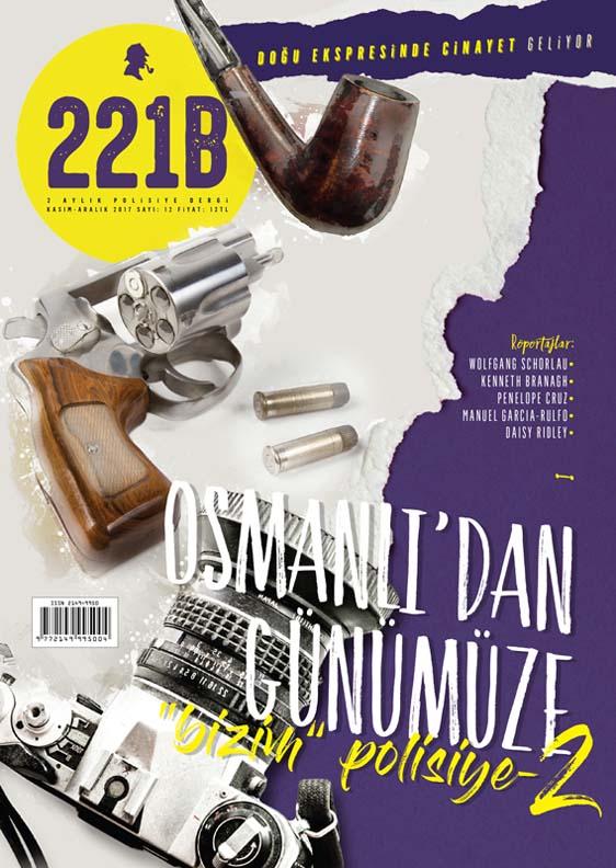 221B Dergi 12. Sayı, Kapak Görseli