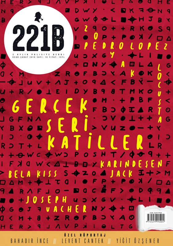 221B Dergi 18. Sayı, Kapak Görseli
