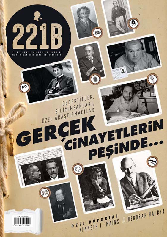 221B Dergi 19. Sayı, Kapak Görseli