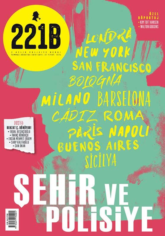 221B Dergi 21. Sayı, Kapak Görseli