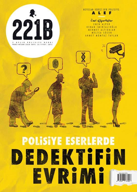 221B Dergi 25. Sayı, Kapak Görseli